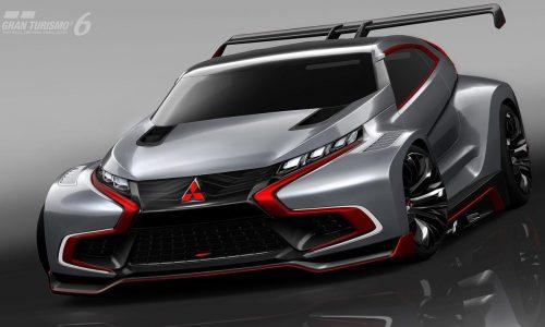 Mitsubishi XR-PHEV Evolution Vision Gran Turismo, futuristic Evo?