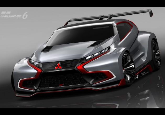 Mitsubishi XR-PHEV Evolution Vision Gran Turismo-4