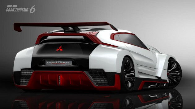 Mitsubishi XR-PHEV Evolution Vision Gran Turismo-rear