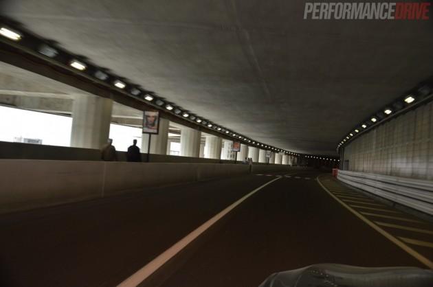 Monaco Monte Carlo F1 track-tunnel