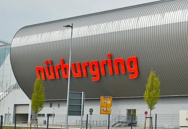 Nurburgring F1 track main grandstand
