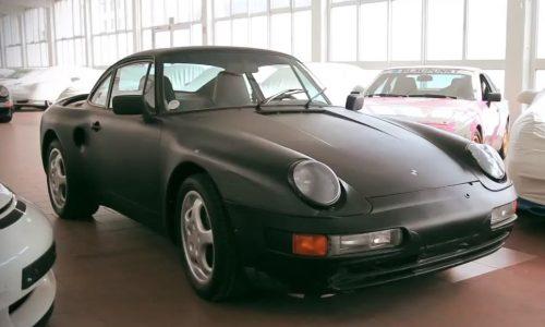 Porsche's secret 911 V8 concept
