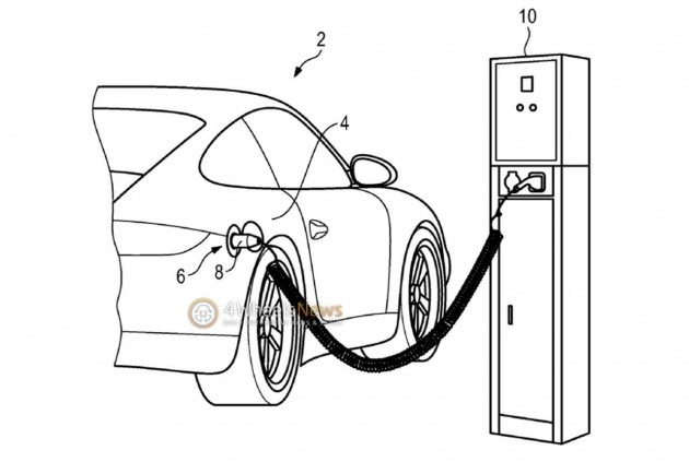 Porsche 911 plug-in hybrid patent