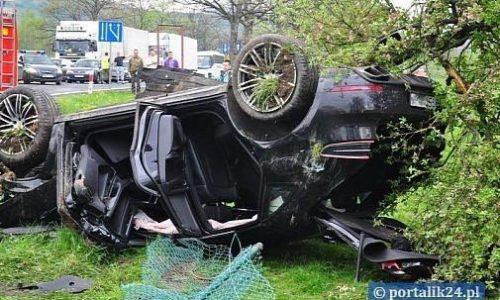 First-ever Porsche Macan crash occurs in Poland