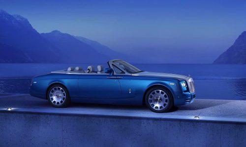 Rolls-Royce Phantom Drophead Waterspeed revealed