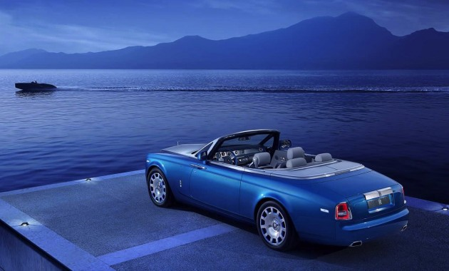 Rolls-Royce Phantom Drophead Waterspeed-rear