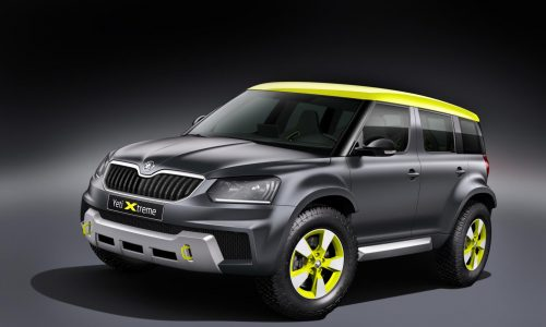 Skoda Yeti Xtreme; rally-inspired concept revealed