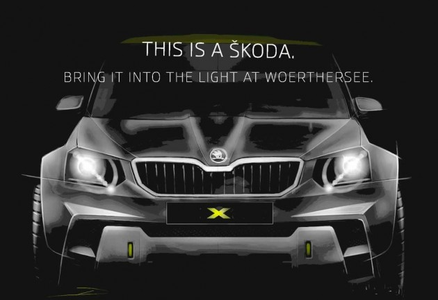 Skoda Yeti concept 2014 Worthersee-modified