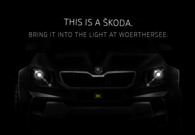 Skoda Yeti concept 2014 Worthersee-original