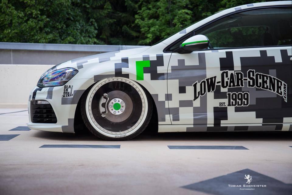 Vw Golf Light Tron 2 0 Shows Off Transparent Wheels