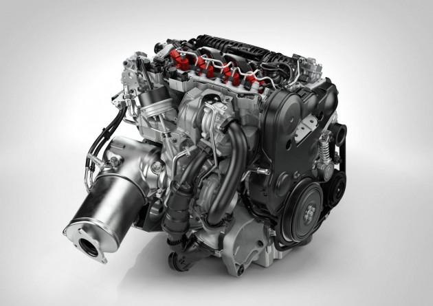 Volvo Drive-E D4 engine