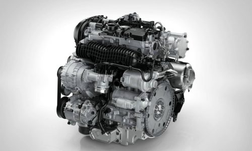 Volvo introduces new 'Drive-E' T5, D4 engines & eight-speed auto