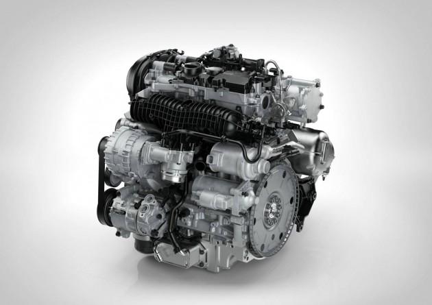 Volvo Drive-E T5 engine