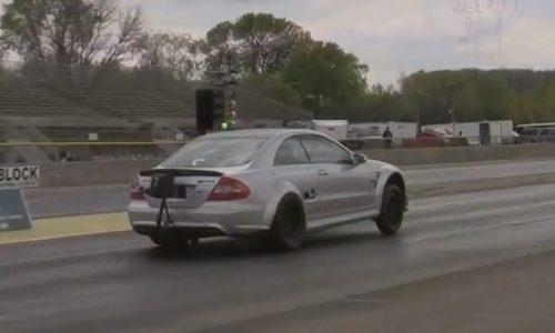 Video: World's quickest Mercedes-Benz CLK 63 AMG?