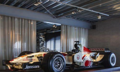 For Sale: Jenson Button's 2006 Honda RA106-4 F1 car