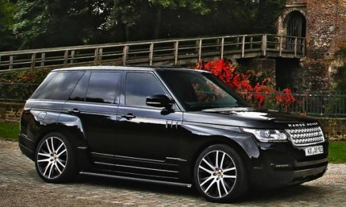 Wide-body Arden Range Rover Sport is an SUV supercar