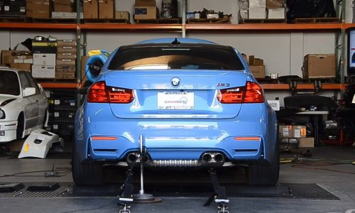 Video: Stock 2014 (F80) BMW M3 makes 312kW at the wheels