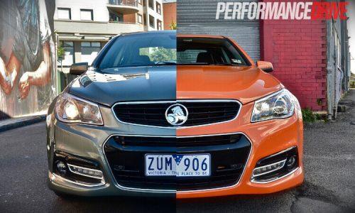 Holden VF Commodore SS V vs SS V Redline: comparison (video)