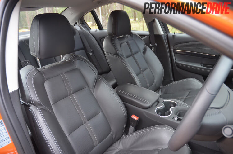 2014 Holden VF Commodore SS V front seats