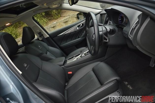 2014 Infiniti Q50 S Premium-front seats