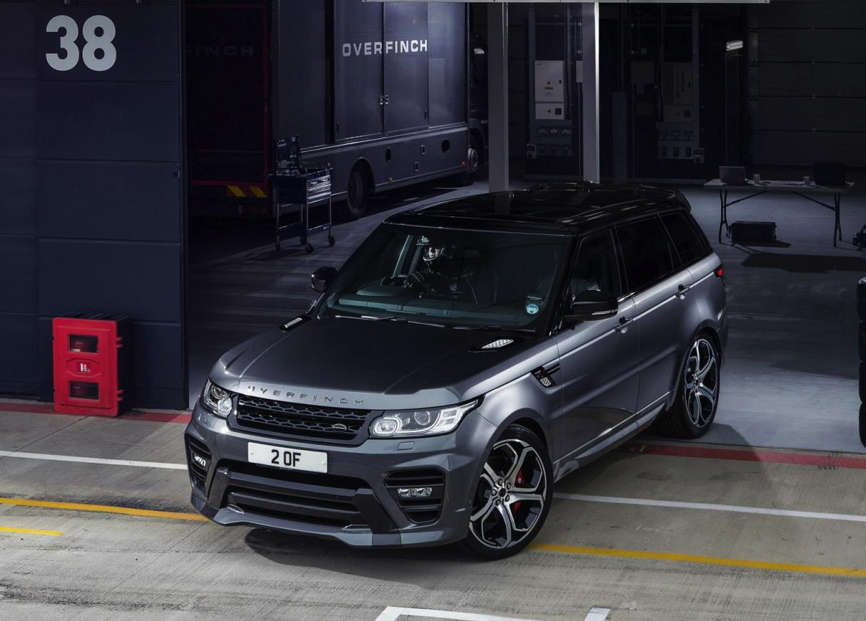 overfinch announces package for new range rover sport performancedrive. Black Bedroom Furniture Sets. Home Design Ideas