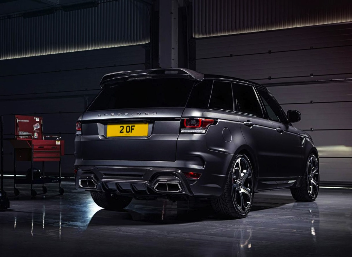 Overfinch announces package for new Range Rover Sport ...