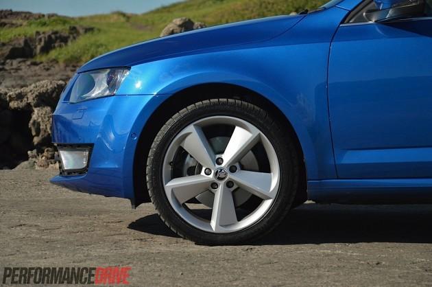 2014 Skoda Octavia Elegance-18in wheels