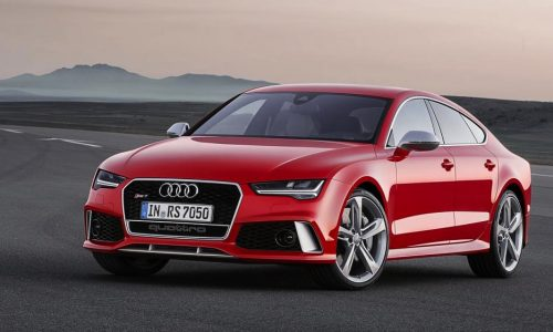 2015 Audi RS 7 facelifted revealed, minor updates