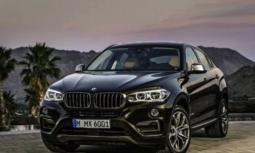 2015 BMW X6 revealed, images leak online