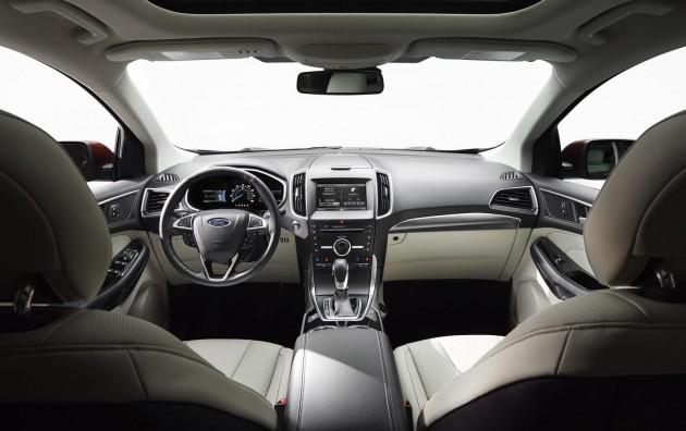 2015 Ford Edge-dash