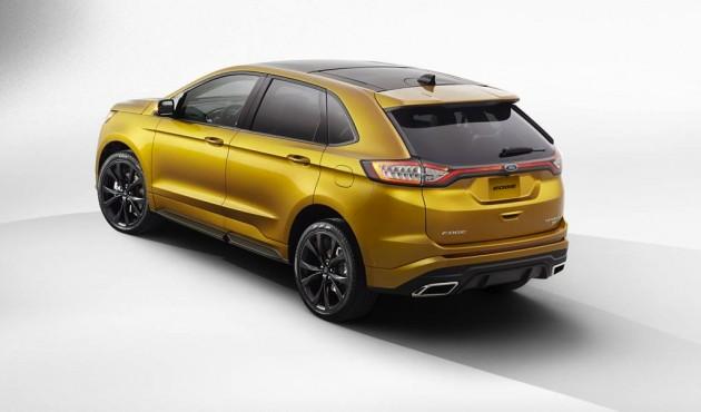 2015 Ford Edge-rear
