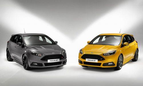 2015 Ford Focus ST; improved design, new diesel option