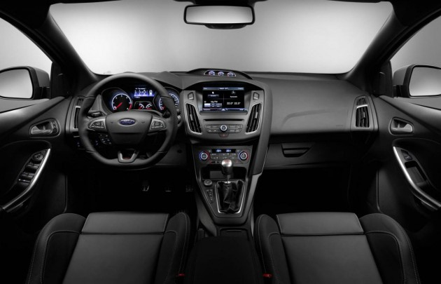 2015 Ford Focus ST-interior