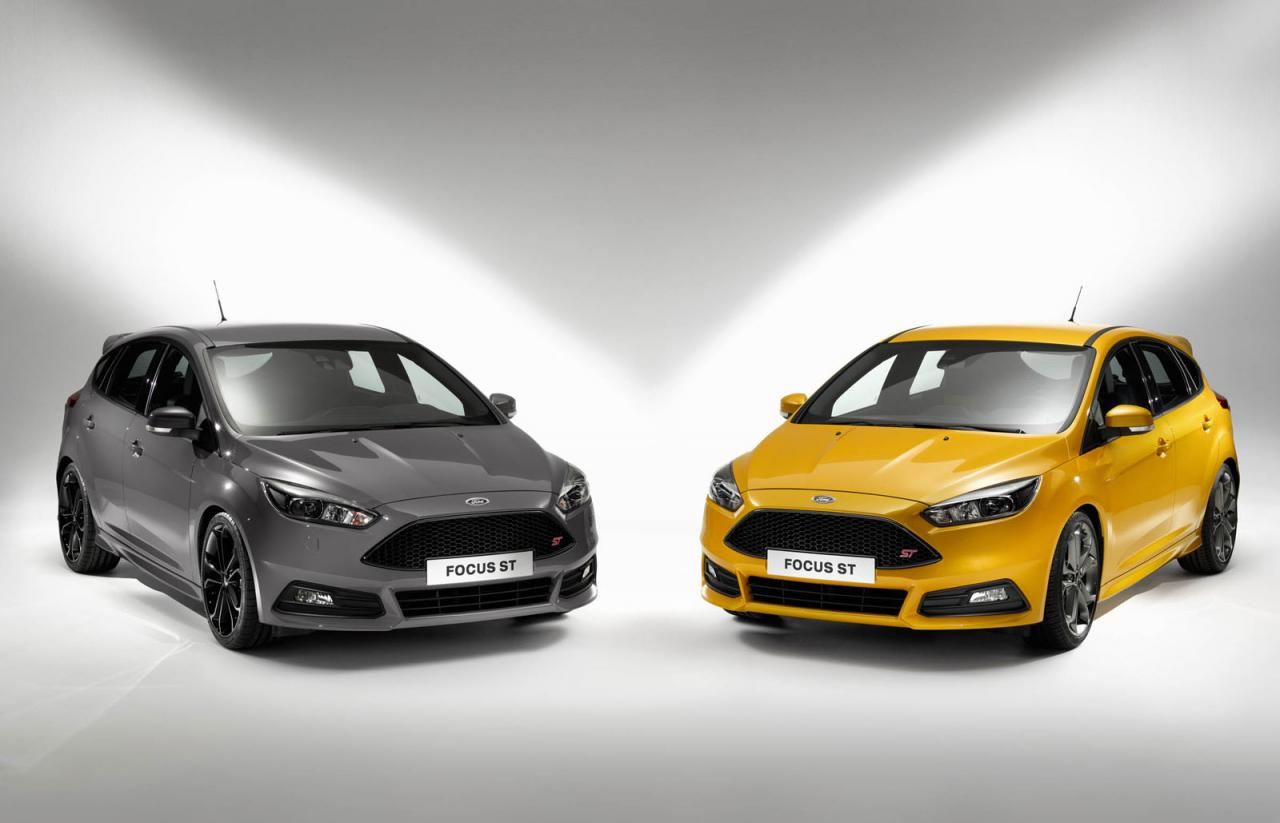 Ford Escape Colors >> 2015 Ford Focus ST; improved design, new diesel option   PerformanceDrive