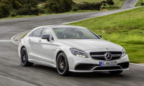 2015 Mercedes-Benz CLS revealed; 9spd auto, 'Multibeam' headlights