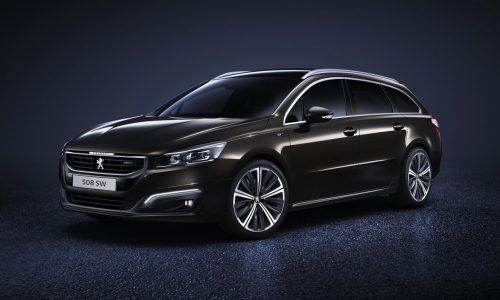 2015 Peugeot 508 gets facelifted design, uprated engines