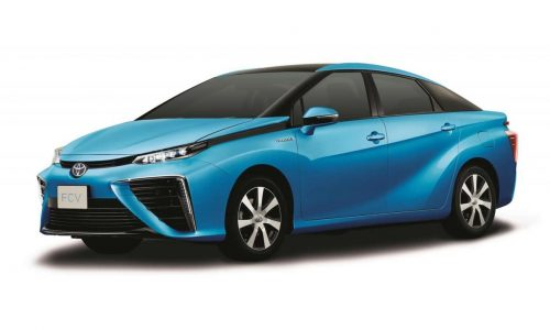 Production Toyota 'FCS' revealed, Toyota's first hydrogen car