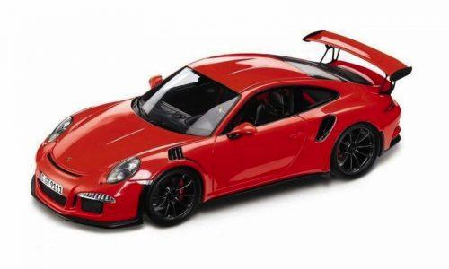 991 Porsche 911 GT3 RS model car reveals turbo engine?