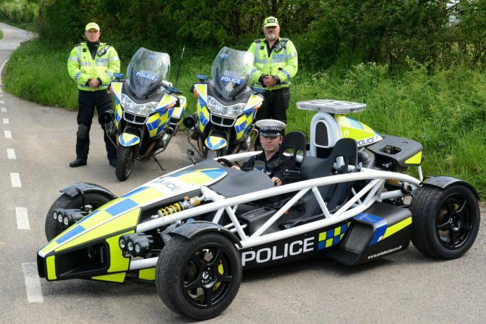 Ariel Atom police car announced in the UK