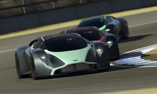 Aston Martin DP-100 Vision Gran Turismo previews future design