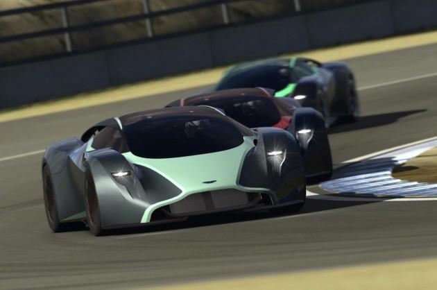 Aston Martin DP-100 Vision Gran Turismo-track
