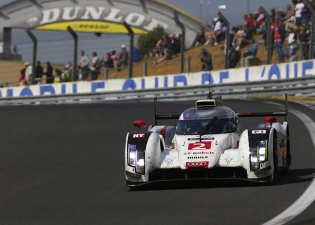 Audi R18 e-tron number 2 car 2014 Le Mans