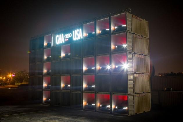 Audi World Cup scoreboard LEDs
