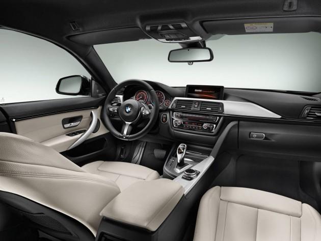 BMW 4 Series Gran Coupe-interior
