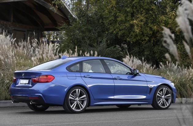 BMW 435i Gran Coupe-rear