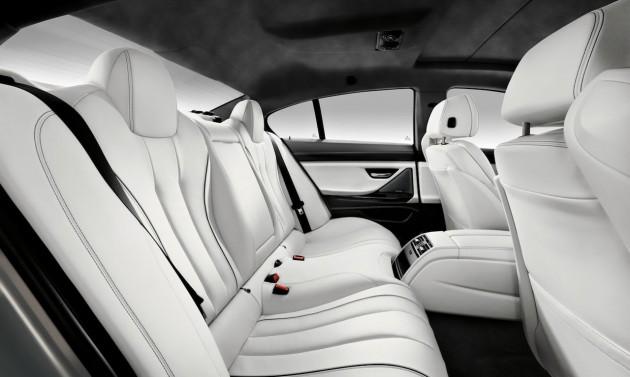 BMW 6 Series Bang and Olufsen edition interior