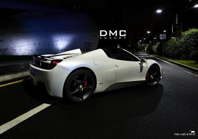 DMC Ferrari Monte Carlo Carbon Edition-rear