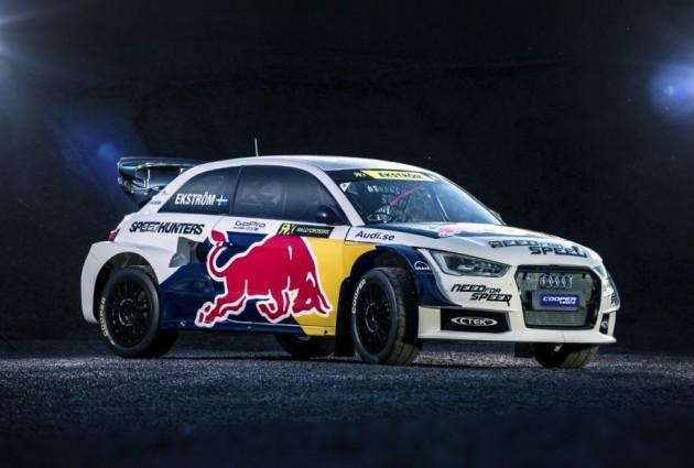 EKS Audi S1 Rallycross-front