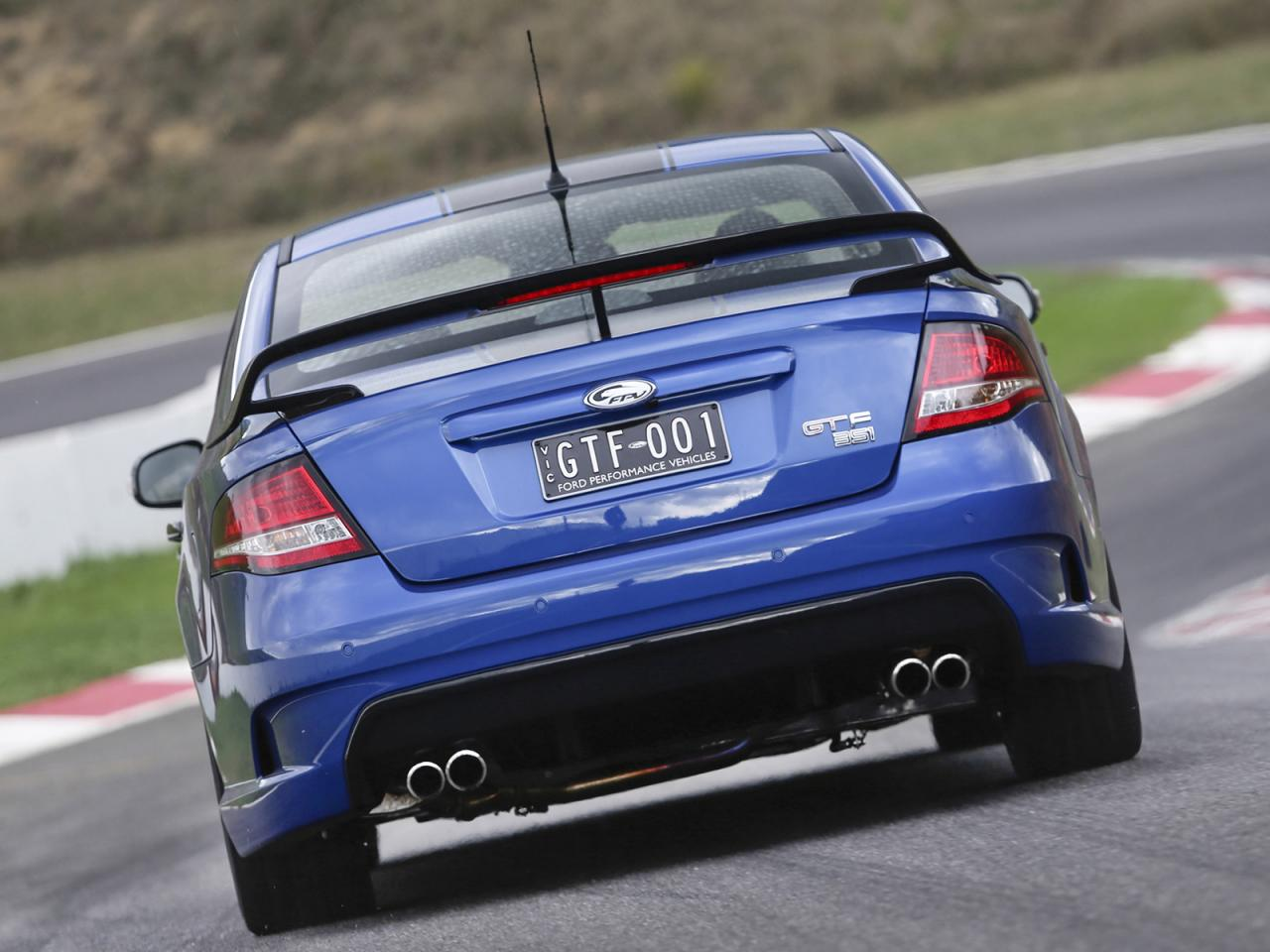 Fpv Gt F Amp Limited Edition Pursuit Ute Officially Revealed