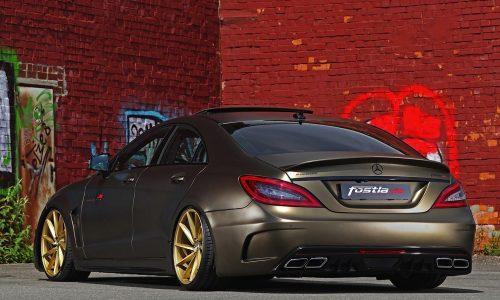 Slammed Mercedes-Benz CLS 350 CDI by Fostla